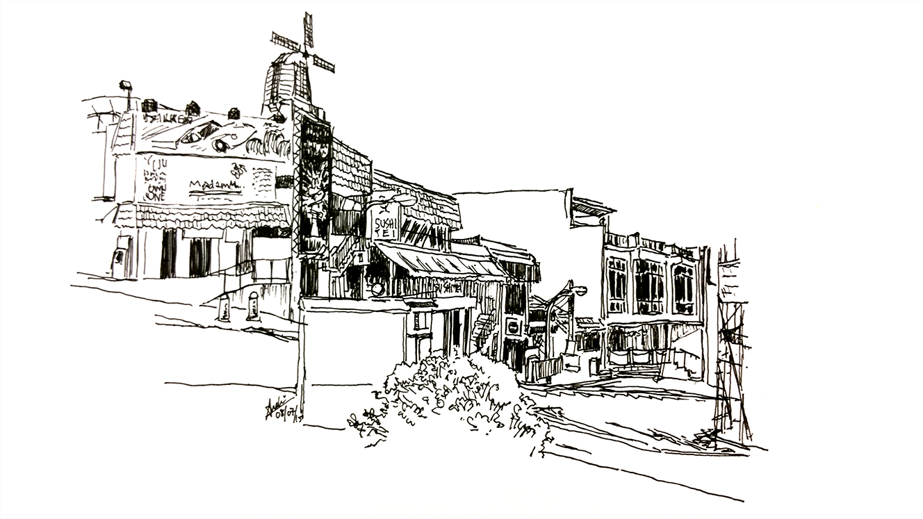 2015_DRAW_penhollandvillage 2