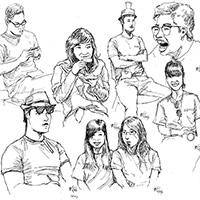 Drawings: Render 2011 Portraits