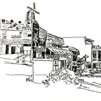 Drawing Exercise 2015: Holland Village